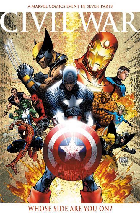 never knows best: Marvel Comics Civil War: Why Superhero ...