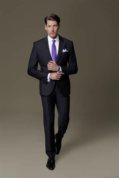 welche krawatte zu welchem hemd die besten 25 schwarzer anzug ideen auf