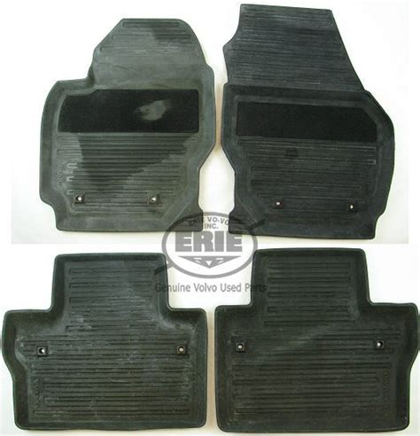 volvo xc90 floor mats oem 4 volvo oem black rubber floor mats for volvo s80 07