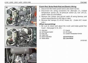 Kubota L3130  L3430  L3830  L4630  L5030 Service Manual