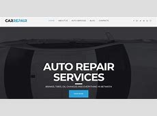 Car Website Templates 2018 to Create the Best Car Website