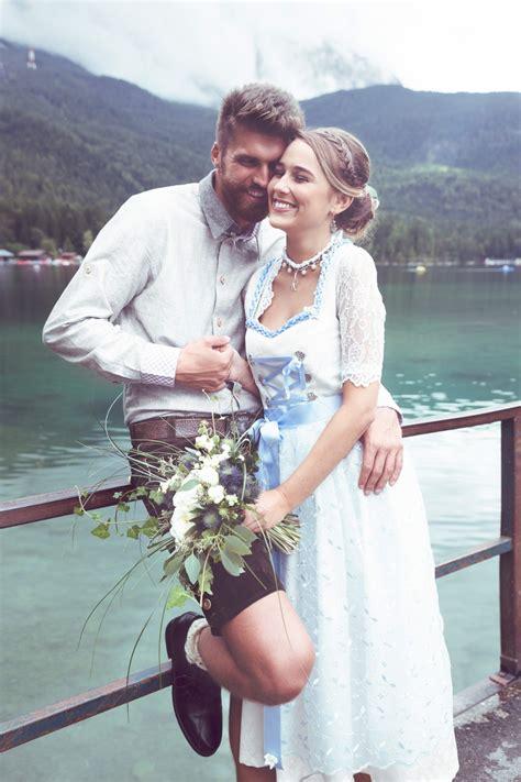 bayerische tradition modern  szene gesetzt liebe zur