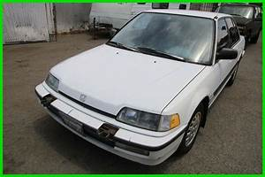 1991 Honda Civic Lx Sedan 5 Speed Manual 4 Cylinder No