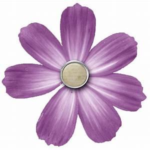 Png, Transparent, Purple, Flower, 6216