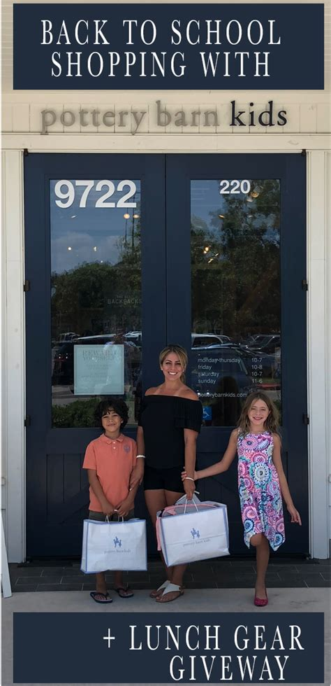 Pottery Barn Back To School by Back To School Shopping At Pottery Barn 187 Glammed Events