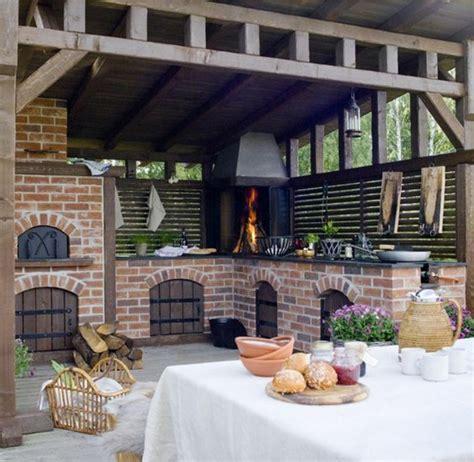 cuisine été cuisine ete bois menuiserie granieri terrasse en bois