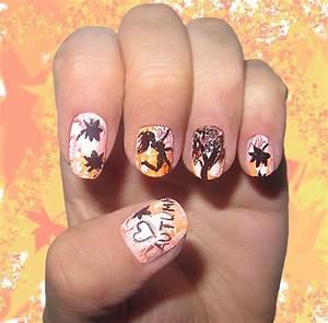 50 autumn fall nail design ideas
