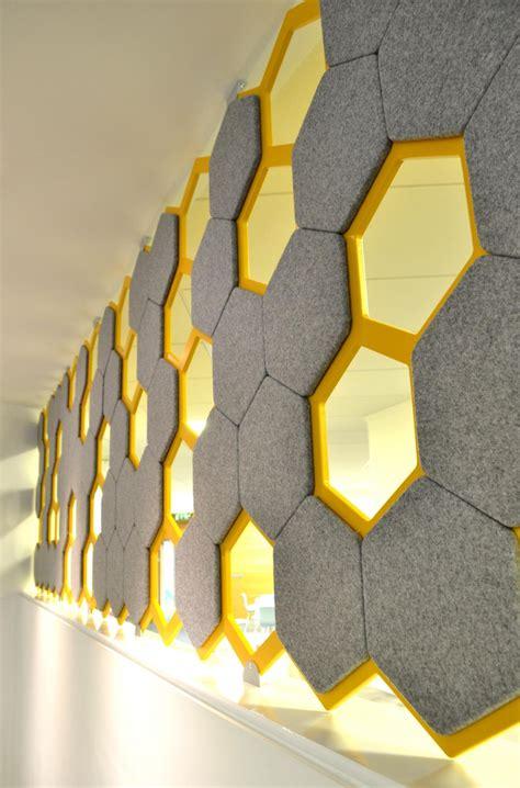 hexagonal acoustic panels  aon insurance dublin leo