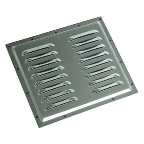 louvered aluminum vent plate