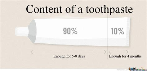 Toothpaste Meme - content of a toothpaste by serkan meme center