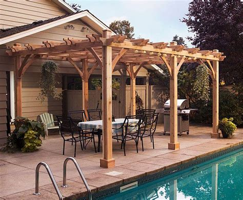 lowes pergola plans woodworking projects plans
