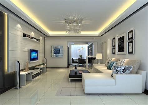 Moderne Deckenverkleidung Wohnzimmer by Ceiling Designs For Your Living Room Drawing Room