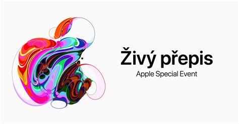 živě česk 253 přepis apple special event