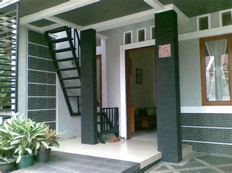 model desain tangga teras rumah minimalis interior rumah