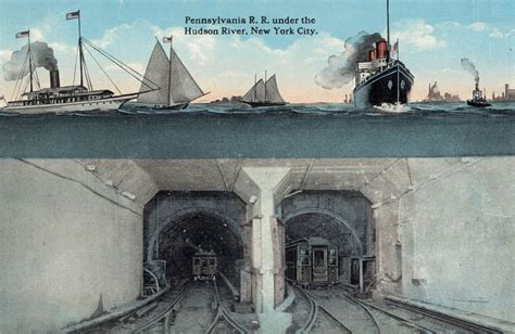 Filepennsylvania Railroad Tunnel Under The Hudson River, New York Citypng  Wikimedia Commons