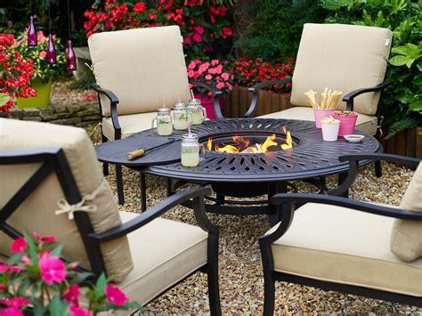 hartman florence pit set metal garden furniture