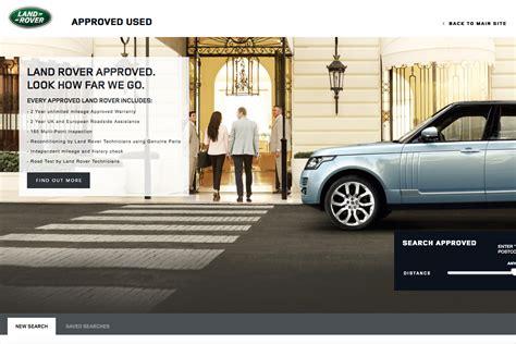 land rover approved  car scheme approved  car