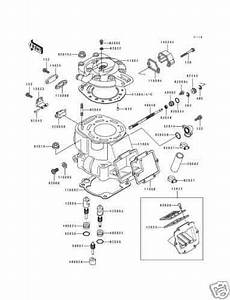 Kx500 Cylinder  Motorcycle Parts