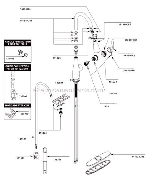 Moen Orb Parts List Diagram Ereplacementparts
