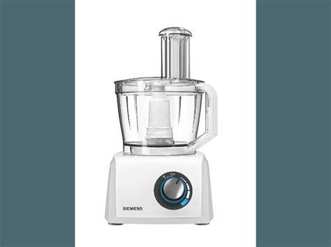 Bedienungsanleitung Siemens Mk 82010 Kompakt-küchenmaschine Weiß(1000 Watt, Mixer-aufsatz 1.5