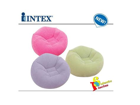 Poltrona Sacco Colorata Intex