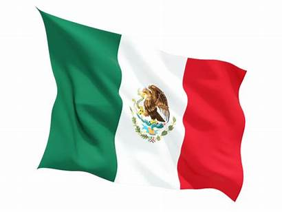 Mexico Flag Fluttering Commercial Non Icon