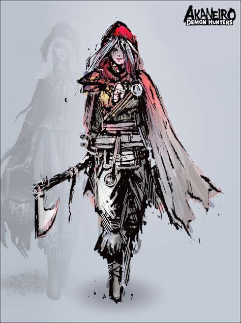 rpgfan pictures akaneiro demon hunter artwork