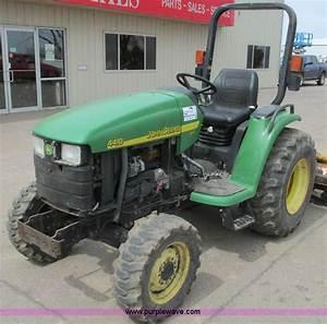2002 John Deere 4410 Mfwd Tractor