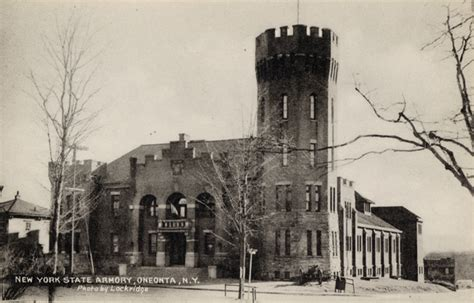 Oneonta Armory - NY Military Museum and Veterans Research ...