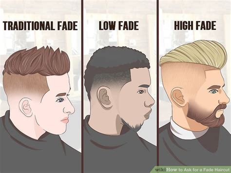 How to Ask for a Fade Haircut: 11 Steps (with Pictures