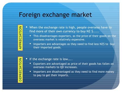 foreign exchange nz 4 5 international economics balance of payments