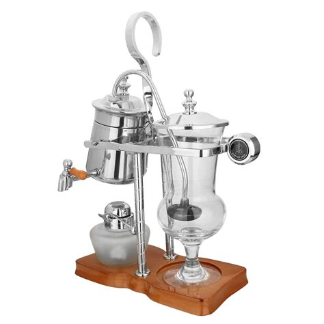 Diguo belgian / belgium luxury royal family balance syphon coffee maker. Stainless Steel Diguo Belgium Belgian Royal Balance Syphon Coffee Maker Siphon Brewer TOP Grade ...