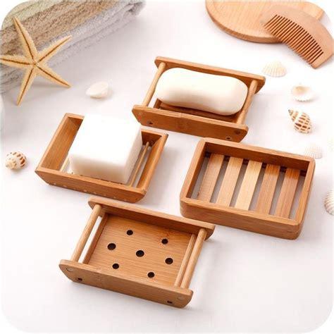 soap holder bath shower plate natural bamboo wooden soap dish soap tray dish soap