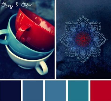 Wandfarbe Beere Hell by Color Inspirations Berry Blue Stitchpunk Color