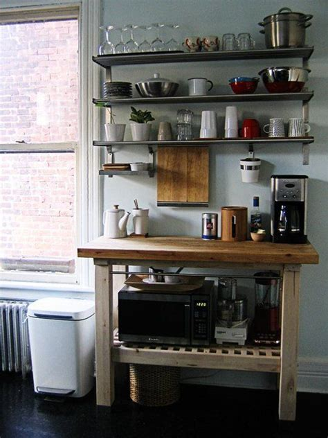 kitchen island with open shelves 10 peeks at ikea 39 s groland island at work in the kitchen