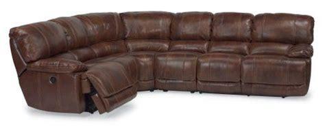 Flexsteel Belmont Power Reclining Sofa by Belmont Leather Power Reclining Sectional By Flexsteel