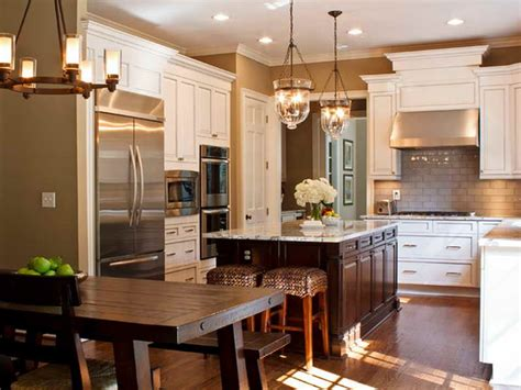 Furniture  Traditional Kitchen Cabinet Painting Ideas