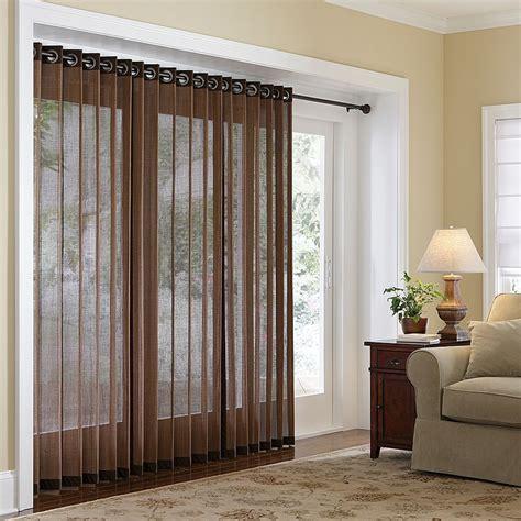 sliding door blinds window treatment ways for sliding glass doors theydesign