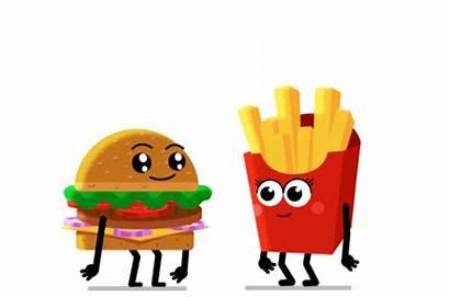 Mcdonald Animated Illustration Animation Motion Mcdonalds Burger
