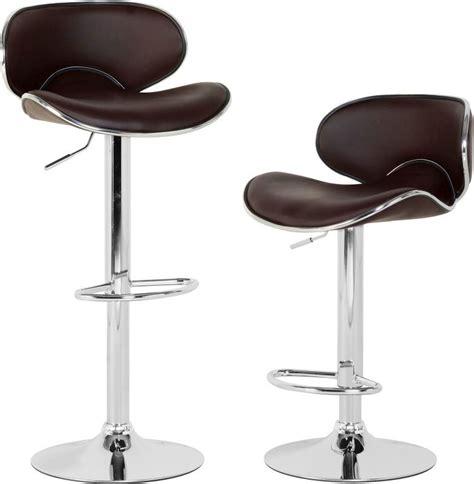 Bahamas Chair Uk by Bahama Swivel Bar Chair With Gas Lift Pair Chocolate