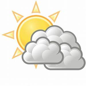 Sunny clipart weather forecast symbol - Pencil and in ...