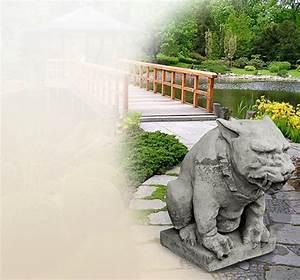 Herbstdeko Für Den Garten : mystische gargoyle statuen f r den garten aus steinguss kaufen ~ Orissabook.com Haus und Dekorationen