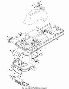 Troy Bilt 17adcact066 Mustang 46 Xp  2015  Parts Diagram