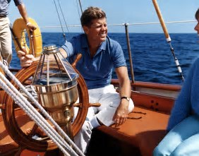 Image result for images jfk on sailboat