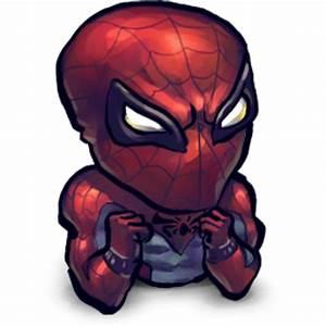 Comics Spiderman Baby Icon | UltraBuuf Iconset | Mattahan