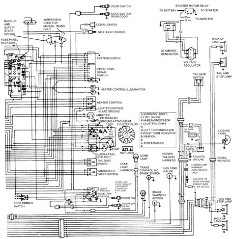 83 Jeep Wagoneer Wiring by Repair Guides Wiring Diagrams Wiring Diagrams