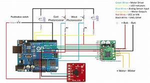 Solar Tracker With Dc Motor And Arduino And Dual Mc33926