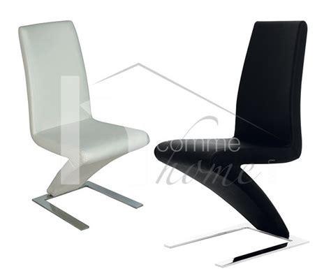 chaise noir et blanc design chaise pu noir pu blanc moselle zd1 c d ec 127 jpg