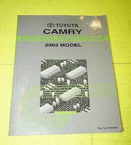 2003 Toyota Camry Oem Evtm Electrical Wiring Diagram