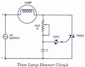 Schematics - Best Lamp Dimming Circuit
